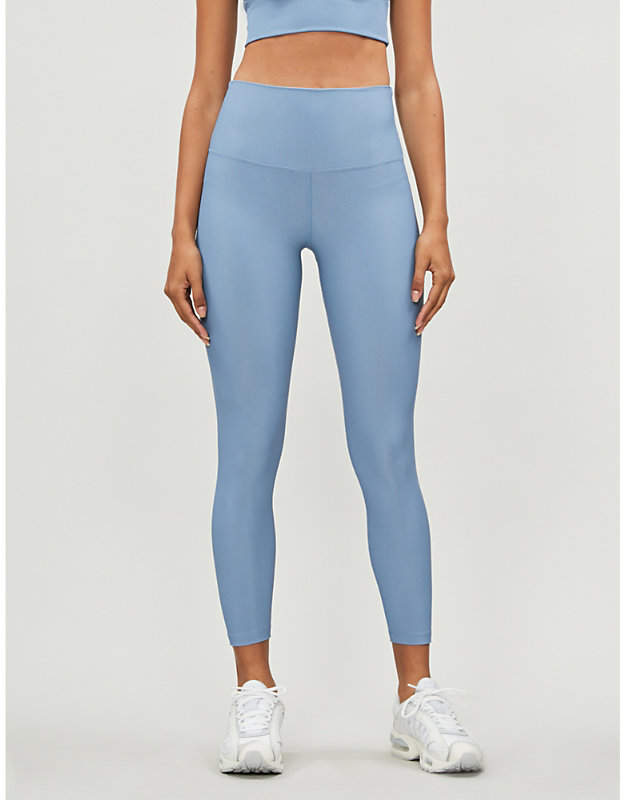 Beach Riot Ayla ribbed stretch-jersey leggings