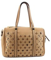 MG Collection Beatriz Cutout Bowling Tote Women Synthetic Tan Shoulder Bag.