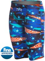 TYR Limited Edition Avictor Omaha Nights Male High Short Jammer Tech Suit Swimsuit 8143651