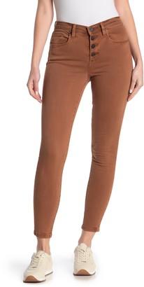 Blanknyc Denim Button Fly Skinny Jeans