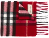 Burberry House Check scarf - kids - Cashmere - One Size