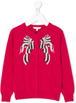 Little Marc Jacobs sequin embroidery cardigan