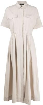 Antonelli Cinched Shirt Dress