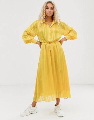 InWear Hollis maxi shirt dress
