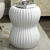 Safavieh Ceramic Garden Stool Color: White