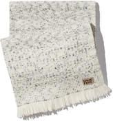Morrow Dover Alpaca Throw in Soft White/Grey