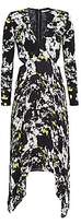Alice + Olivia Women's Temika Cutout Print Dress