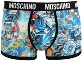 Moschino Underwear Trunk Shorts Blue
