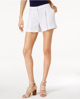 MICHAEL Michael Kors Striped Linen Shorts