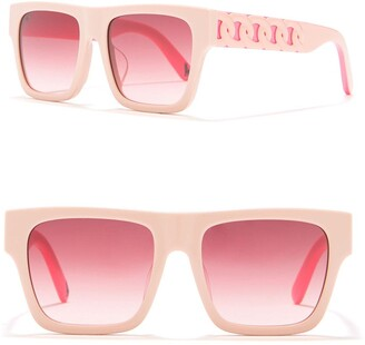Stella McCartney 47mm Irregular Sunglasses