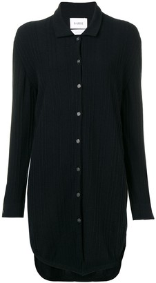 Barrie Cashmere Knitted Shirt Dress