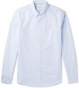 J.Crew Slim-Fit Button-Down Collar Striped Cotton Oxford Shirt