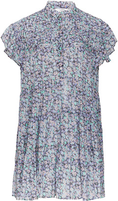 Etoile Isabel Marant Lanikaye Printed Cotton-Voile Mini Dress
