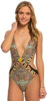 Volcom Swimwear Stone Row One Piece Swimsuit 8139712