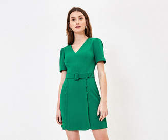 Oasis Button Detail Shift Dress