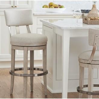 Barclay Butera Malibu Swivel Upholstered Counter Stool