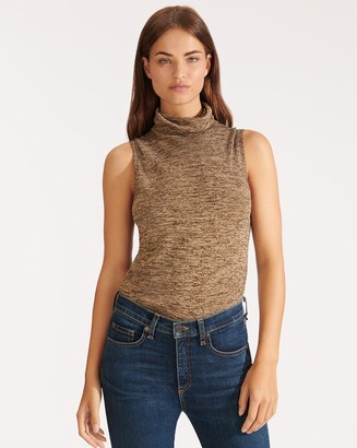 Veronica Beard Esther Sleeveless Turtleneck