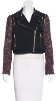 Elizabeth and James Leather & Embellished Jacket w/ Tags