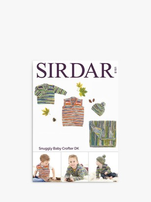 Sirdar Snuggly Baby Crofter Children's Jumper and Accessories Knitting Pattern, 5151