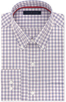Tommy Hilfiger Men's Classic-Fit Non-Iron Red Check Dress Shirt
