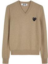 Comme des Garcons Black Emblem Sweater