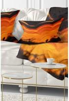 Abstract Agate Macro Lumbar Pillow East Urban Home