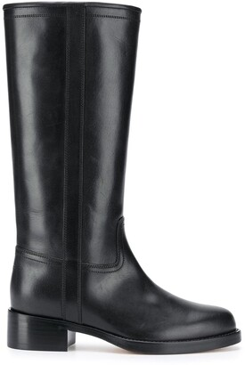 Etro Knee-High Riding Boots