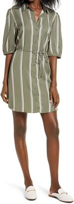 BB Dakota Stripe Shirtdress