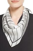 Vince Camuto Women's Stripe Silk Triangle Scarf