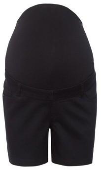 Dorothy Perkins Womens **Dp Maternity Black Denim Shorts, Black