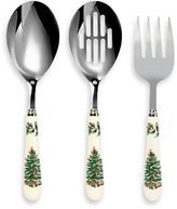 Spode Christmas Tree 3-Piece Cutlery Serving Set
