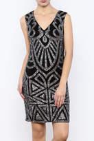 Dry Lake Sleeveless Sequin Dress