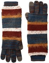 Muk Luks Women's Pennies From Heaven Three-In-One Gloves