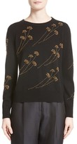Co Women's Beaded Wool & Cashmere Sweater