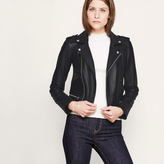 Maje Leather jacket BASALT