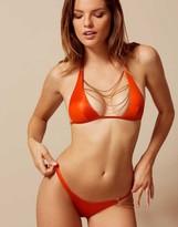 Agent Provocateur Tonya Bikini Bottoms Orange