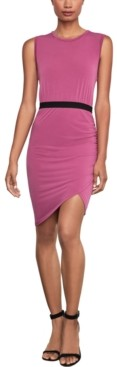 BCBGMAXAZRIA Ruched Asymmetrical Dress