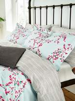 Joules Blossom floral oxford pillowcase