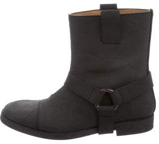 Maison Margiela Textured Ankle Boots