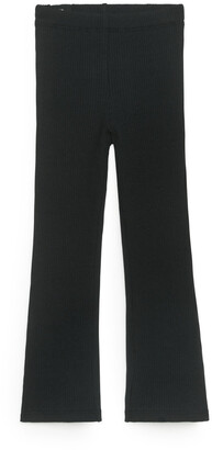 Arket Ribbed Jersey Trousers