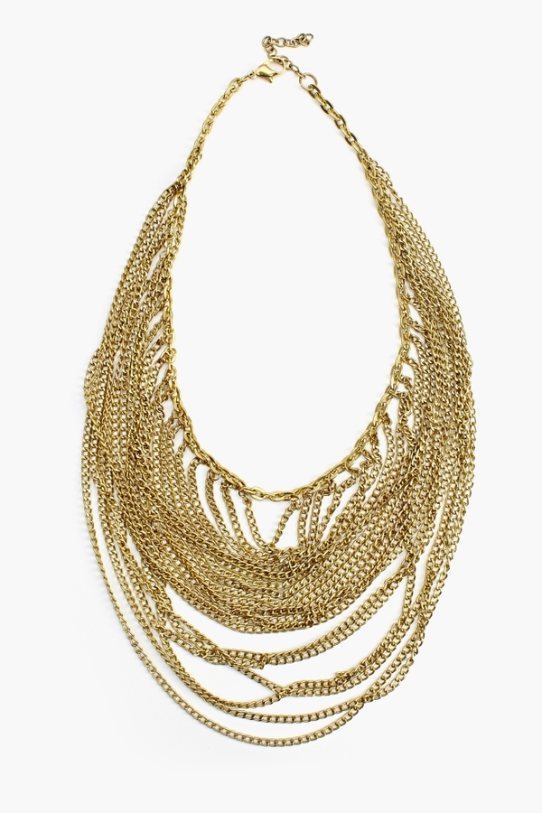 Nasty Gal Luxor Chain Necklace