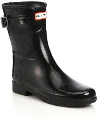 Hunter Refined Short Gloss Rain Boots