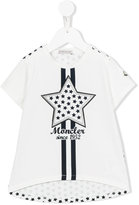 Moncler star print T-shirt - kids - Cotton/Spandex/Elastane - 4 yrs