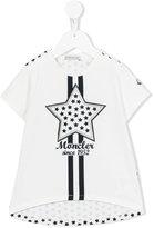 Moncler star print T-shirt