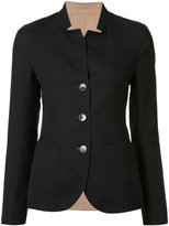 Akris button up jacket - women - Cotton/Polyamide - 4