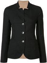 Akris button up jacket - women - Cotton/Polyamide - 6