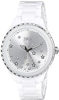 Jivago Women's JV2410 Sky Analog Display Swiss Quartz White Watch
