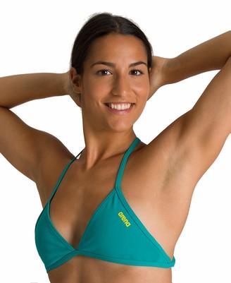 Arena Women's Rule Breaker Feel Triangle Top MaxLife Bikini Top