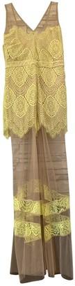 For Love & Lemons \N Yellow Dress for Women