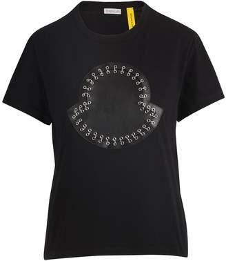 Noir Kei Ninomiya Moncler Genius Moncler Logo T-shirt